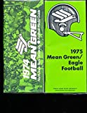 1974 North Texas football media guide em (only listed)