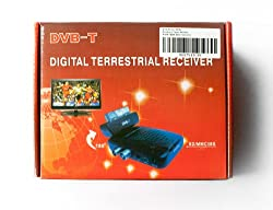 NEW Freeview Digital TV Receiver Tuner Scart Set Top Box & Recorder ANALOGUE TO DIGITAL TELEVISION CONVERTE