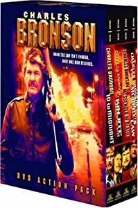Charles Bronson DVD Action Pack (Kinjite / Messenger of Death / Murphy's Law / 10 to Midnight) [Import]