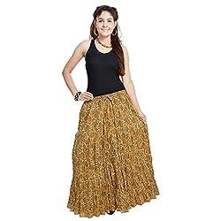 Prateek Retail Fashionable Ethnic Cotton Short Skirt