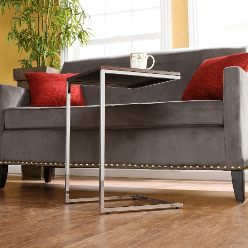 Southern Enterprises Sofa Server Accent Table, Espresso