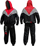 Authentic RDX Fight ME Non Rip Sauna Sweat Track Suit Weight loss Slimming Fitness Boxing Gym Belt Mens