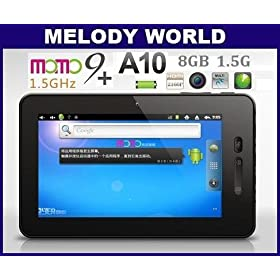 7-inch Ployer MOMO9 Android 4.0 Tablet PC w/Market_8GB Storage_1.5GHz CPU