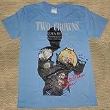 【新ラインナップ発売開始】 DDTプロレス 飯伏幸太2冠記念Tシャツ サックス色 XL