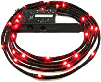 NZXT Sleeved LED Case Light Kit (Red) 2 Meter CB-LED20-RD