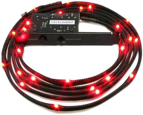 nzxt-cb-led20-rd-2-metres-light-sensitivity-sleeved-led-kit-red