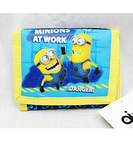 Trifold-Wallet-Despicable-Me-Minions-At-Work-Anime-Boys-New-dl21182