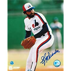 Jeff Reardon Montreal Expos Autographed Hand Signed 8x10 Photo -Pitching-
