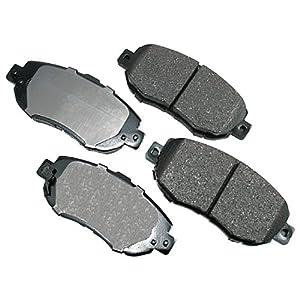About brake pads Review: Akebono ACT619 ProACT Ultra-Premium