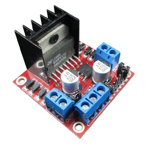 Generic Module L298N Dual H Bridge Dc Stepper Motor Drive Controller Board For Arduino