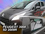 wind deflectors PEUGEOT 3008 5doors 4parts   wind Peugeot deflectors 5doors 4parts 3008