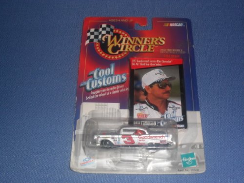 1998 NASCAR Winner's Circle . . . Dale Earnhardt #3 GM Goodwrench Chevy Monte Carlo 1/64 Diecast . . . 1957 Bel Air Hard Top-Silver Select . . . Includes Collectors Card - 1