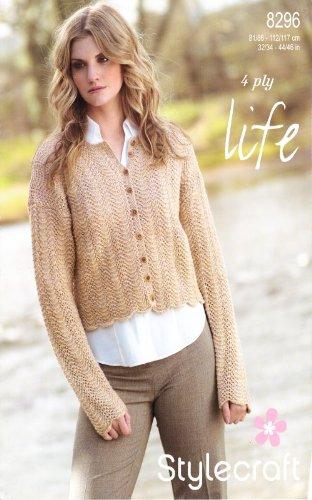 Stylecraft 4 Ply Knitting Pattern Womens Long