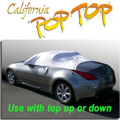 Nissan 350Z DuPont Tyvek PopTop Sun Shade, Interior, Cockpit, Car Cover. For Both Coupe and Convertible Models - SEMA SHOW NEW PRODUCT AWARD WINNER