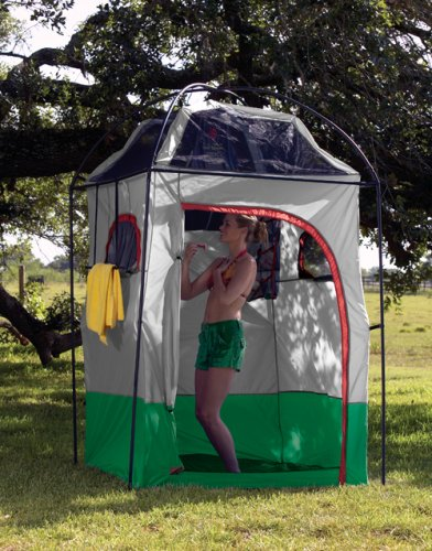 Portable Camp Shower Shelter Camping Hiking Outdoor Tent