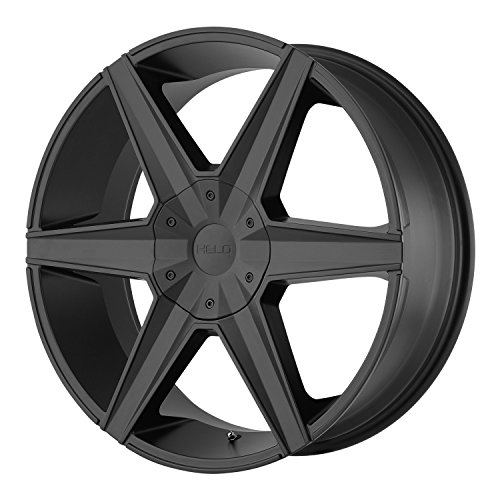 Helo HE887 Satin Black Wheel  (22x9