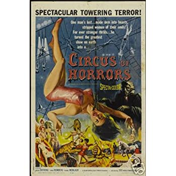 "Circus Of Horror 12"" x 18"" Vintage Movie Poster Print"