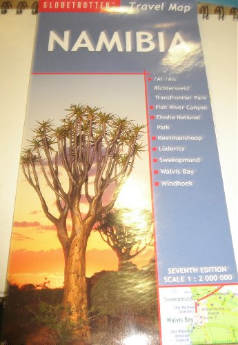Namibia Travel Map, 7th (Globetrotter Travel Map)