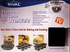Everflex Silicone Soft Ovenware