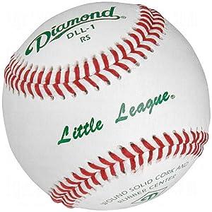 Buy Diamond Dll-1 Little League Leather Baseballs 1 Dozen by Diamond Sports