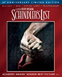 Schindlers List - 20th Anniversary Limited Edition (Blu-ray + DVD + Digital Copy + UltraViolet)