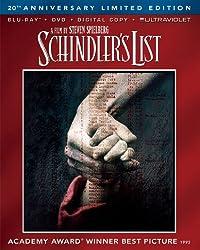 Schindler's List 20th Anniversary Limited Edition (Blu-ray + DVD + Digital Copy + UltraViolet)