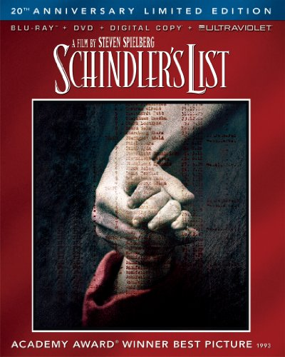 51He6QXyQnL Schindlers List 20th Anniversary Limited Edition (Blu ray + DVD + Digital Copy + UltraViolet)