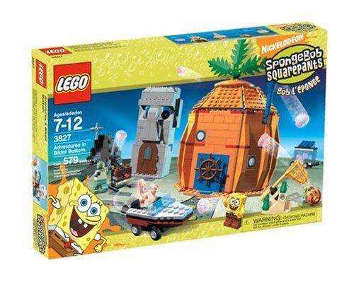 LEGO Spongebob Squarepants 3827 Adventures in Bakini Bottom