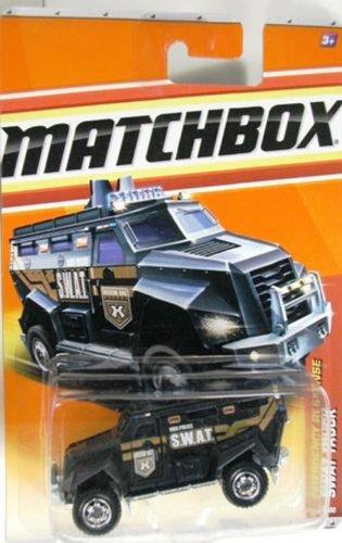 2011 Matchbox SWAT Truck Black #59 of 100