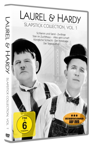 Laurel & Hardy - Slapstick Collection Vol. 1<br>[7 Kurzfilme auf 1 DVD]