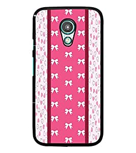 PrintDhaba Ribbon Pattern D-3229 Back Case Cover for MEIZU M1 NOTE (Multi-Coloured)
