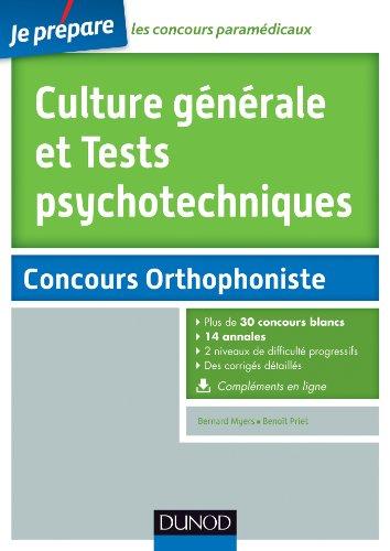 Culture générale et Tests psychotechniques