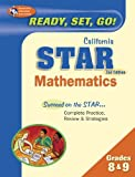 img - for California STAR Grades 8 & 9 Math (California STAR Test Preparation) book / textbook / text book