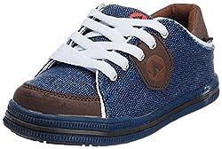 Airwalk Boys Blue Canvas Sports Shoes - 6.5 UK/30 EU