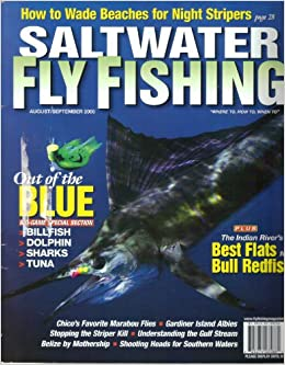 Saltwater fly fishing magazine vol 11 issue 4 august for Saltwater fishing magazines