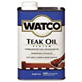 RUST-OLEUM A67141 Watco Quart Teak Oil Finish One-Step Protection