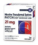 Habitrol Nicotine Transdermal System Patch   Stop Smoking Aid   Step 1 (21 mg)   14 Patches (2 Week Kit)