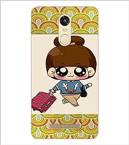 PrintDhaba Cartoon D-4723 Back Case Cover for XIAOMI REDMI NOTE 3 (MEDIATEK) (Multi-Coloured)