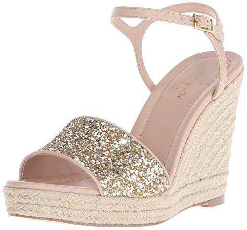 kate spade new york Womens Jaden Espadrille Wedge Sandal