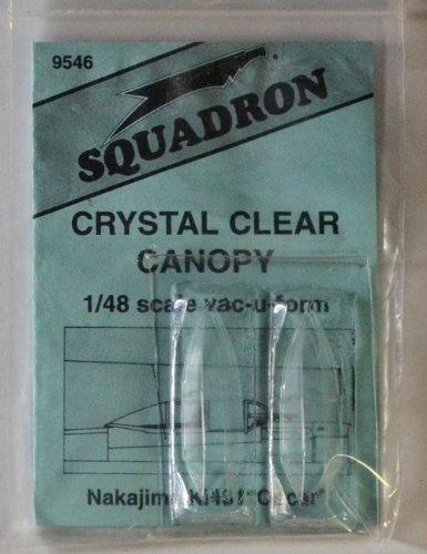 Squadron Products Ki-43 Oscar Vacuform Canopy
