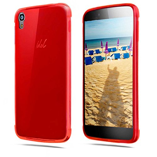 tbocr-alcatel-one-touch-idol-3-55-red-ultra-thin-tpu-silicone-gel-case-cover-soft-jelly-rubber-skin