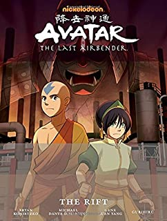 Book Cover: Avatar: The Last Airbender - The Rift Library Edition