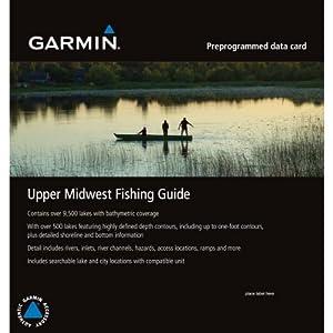 Garmin Upper Midwest Fishing Guide - microSD/SD