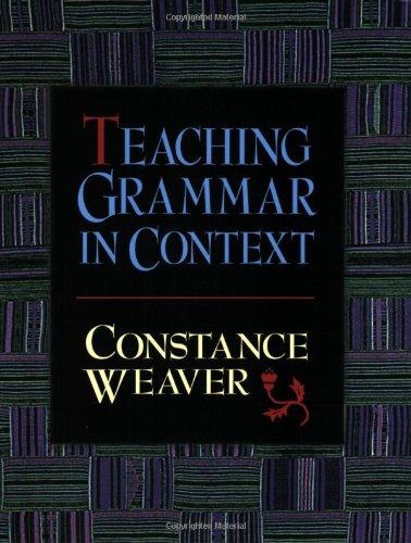 Teaching Grammar in Context
