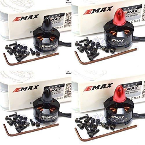 EMAX MT1806 KV2280 Brushless Motor For RC 250 Racing Quad QAV250 2CW + 2CCW (Quad Motor Cap compare prices)