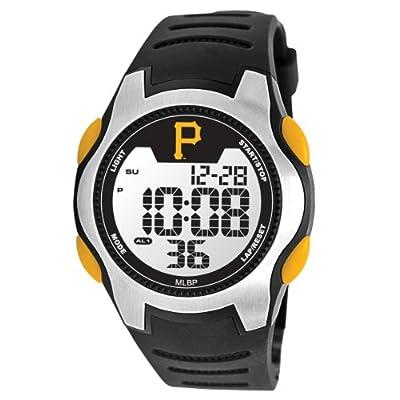 Pittsburgh Pirates Game Time Training Camp Digital Wrist Watch P Logo