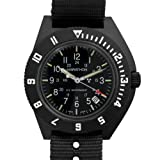 Marathon Watch Company Watch, Military Navigator Pilots Quartz Wristwatch with Date and Tritium Tubes