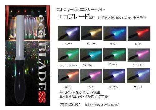 【立春価格】24時間以内発送、次世代式ペン型ライト、1本で12色+カラーローテーション! 【エコブレードss】ストラップ付き