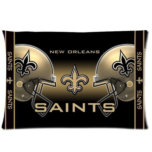 Christmas Gifts NFL New Orleans Saints Rectangle Pillow Cases 20x30 (one side) Comfortable For Lovers And Friends For Christmas Gifts at Amazon.com