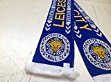 LEICESTER CITY PREMIER LEAGUE CHAMPIONS SCARF.. Ltd Edition.#FEARLESS# Free post